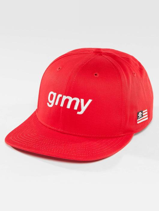 Grimey Wear Snapback The Lucy Pearl èervená