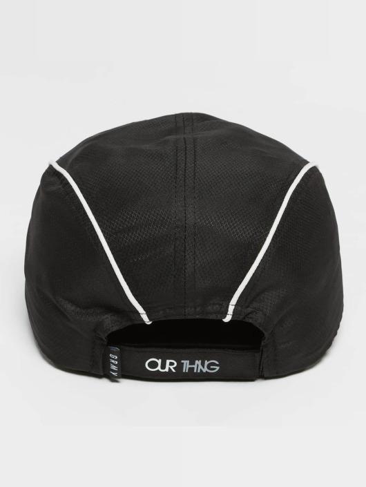 Grimey Wear Snapback Caps Mangusta V8 czarny
