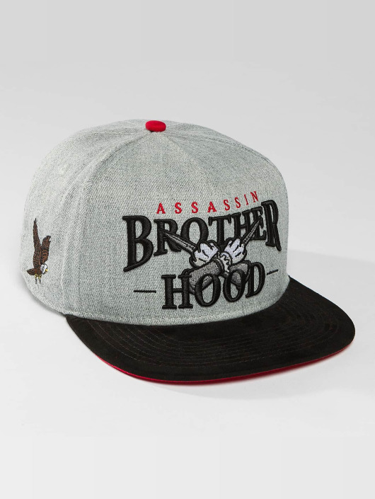 Hands of Gold Snapback Cap Brotherhood grau