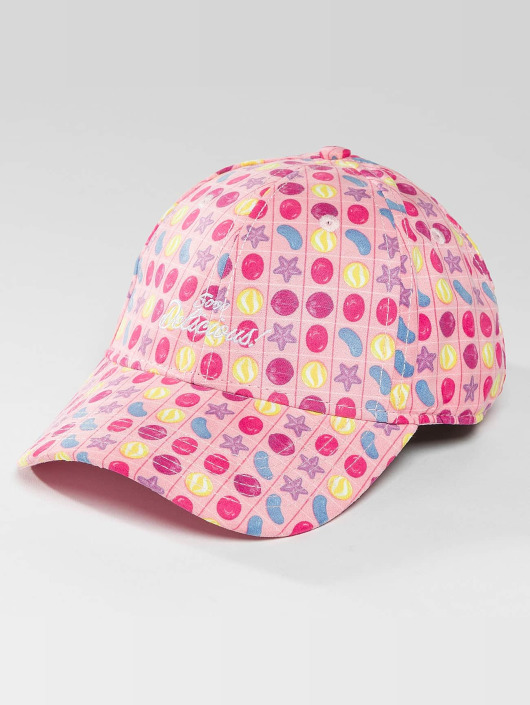 Hands of Gold Snapback Cap Soo Delicious Curved pink