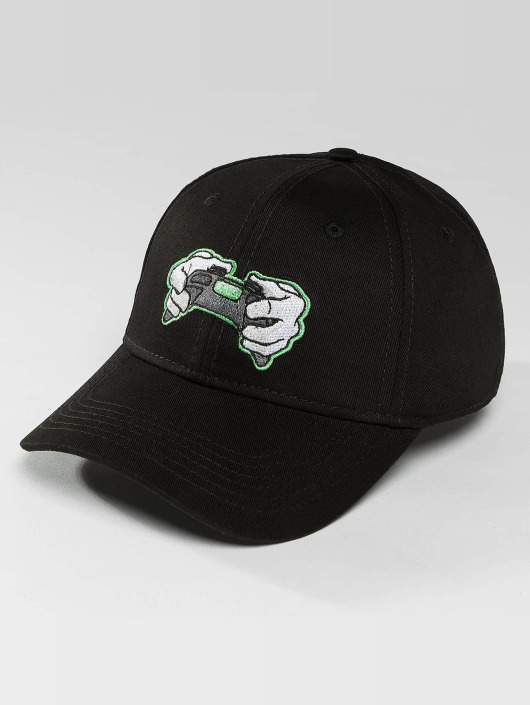 Hands of Gold Snapback Cap All Day Curved schwarz
