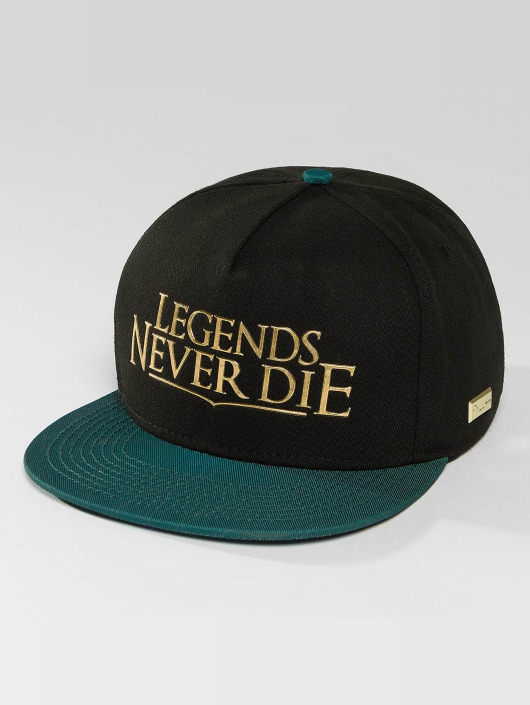 Hands of Gold Snapback Cap Legends schwarz