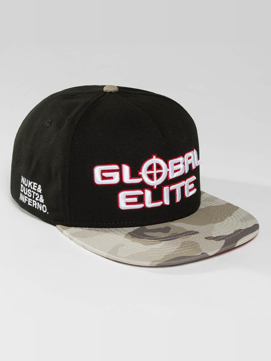 Hands of Gold Snapback Cap Elite schwarz