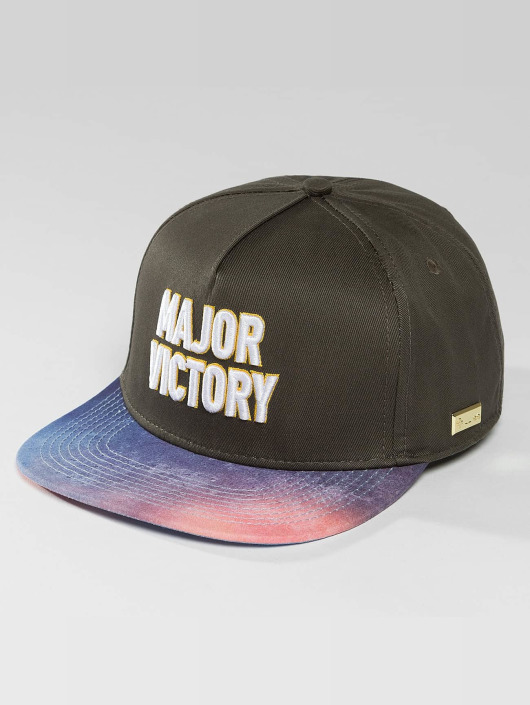 Hands of Gold Snapback Cap Major Victory schwarz
