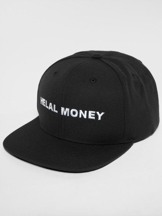 Helal Money Snapback Cap LOGO schwarz