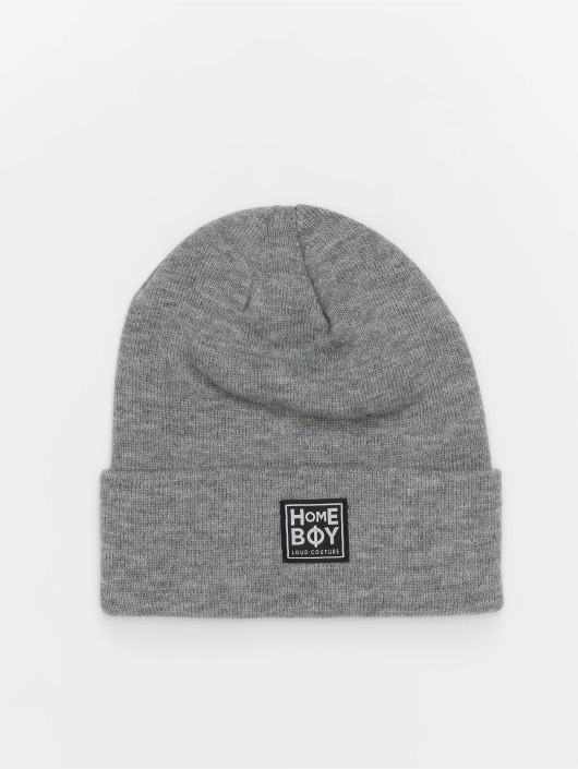 Homeboy Hat-1 Bad Hair New School Logo gray