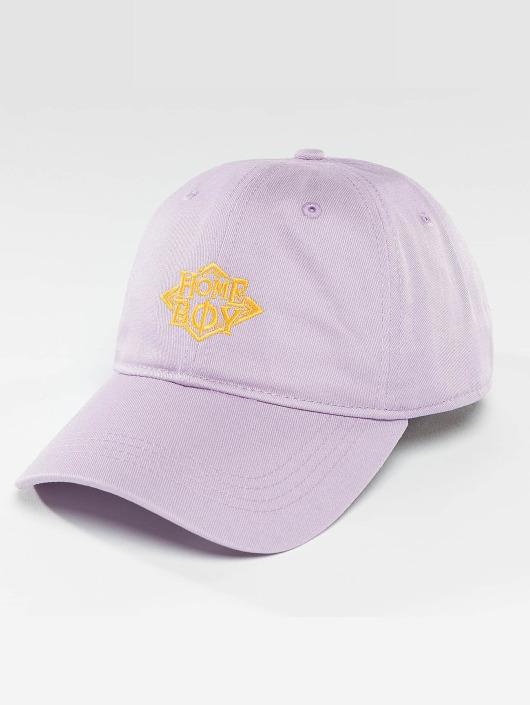 Homeboy Snapback Caps Nappo Logo purpuranpunainen