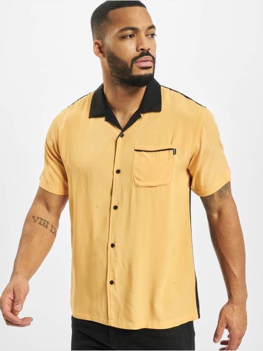 huge discount f1852 12f40 Huf Cherish Ss Bowling Shirt Yellow
