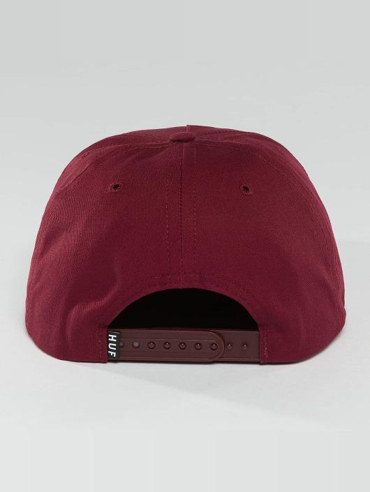 HUF Snapback Caps Bar Logo punainen