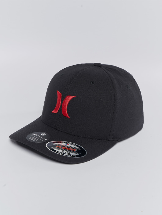 Hurley Flexfitted Cap One   Only in schwarz 469425 8442cdb14af