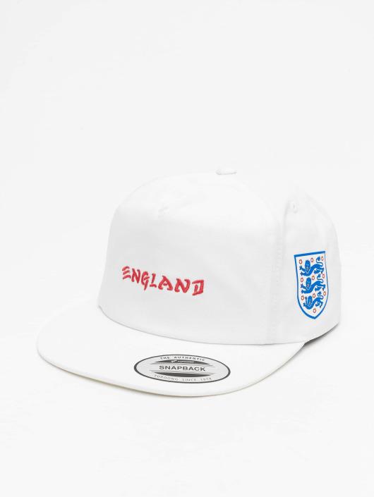 Hurley Snapback Caps England National Team bialy