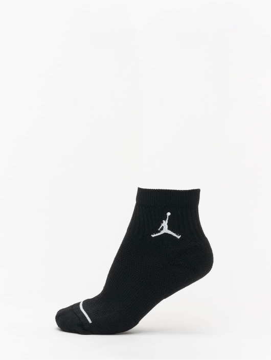 Jordan Socken Jumpman High-Intensity Quarter schwarz