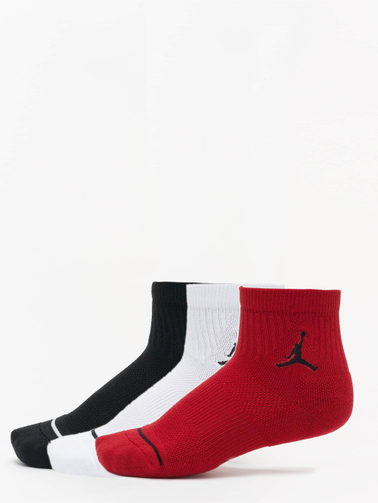 Jordan Socken Jumpman High-Intensity Quarter schwarz