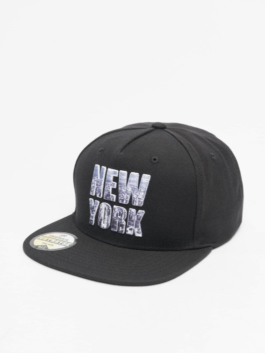 Just Rhyse Snapback New York Style èierna
