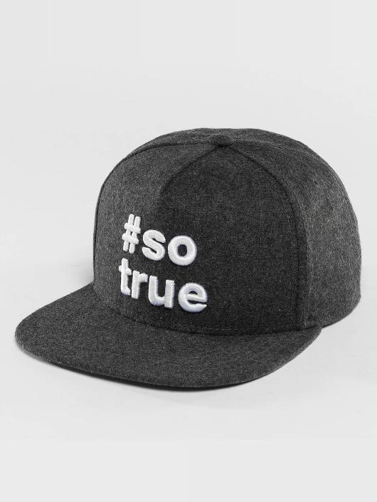 Just Rhyse Snapback Cap Being True grey