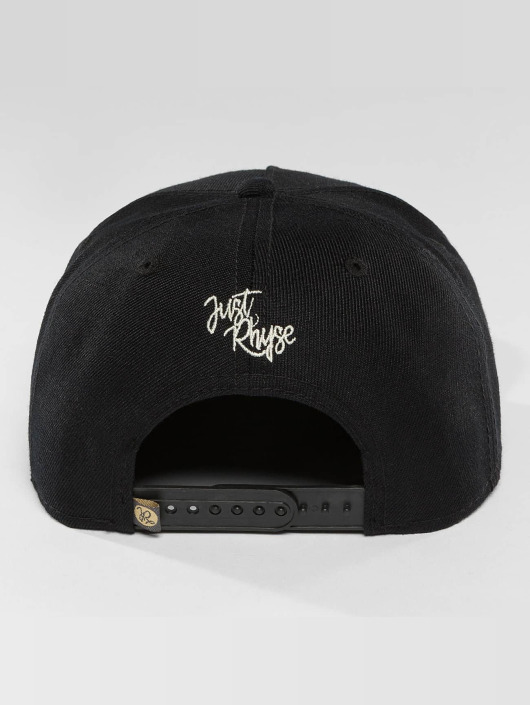Just Rhyse Snapback Caps Mentasta Lake Starter čern