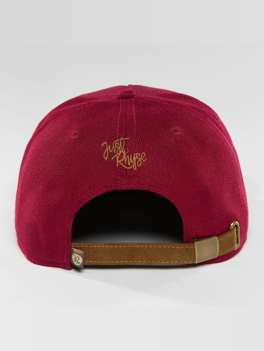 Just Rhyse Snapback Caps Northway Starter červený