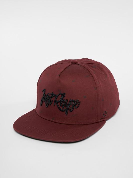 Just Rhyse Snapback Caps San Vicente czerwony