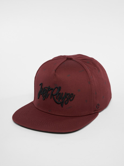 Just Rhyse Snapback Caps San Vicente red