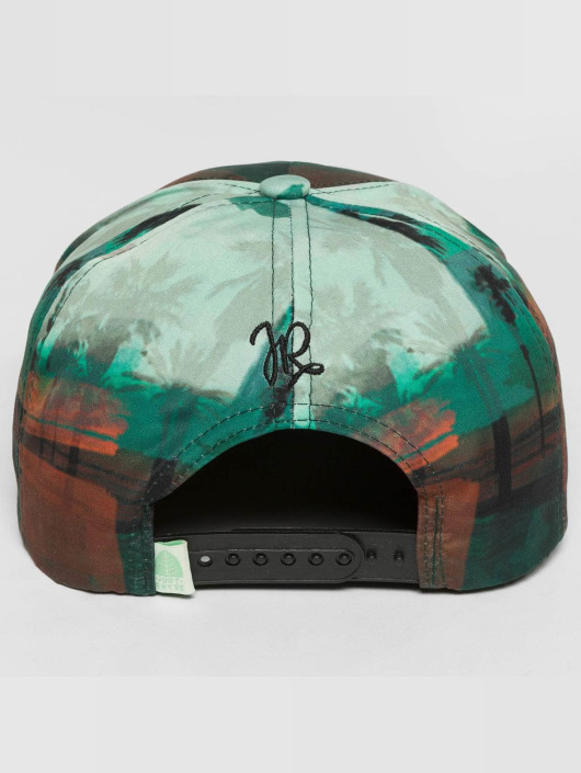 Just Rhyse Snapback Caps Punta Sal zielony