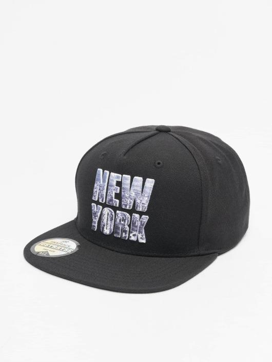 Just Rhyse Snapbackkeps New York Style svart