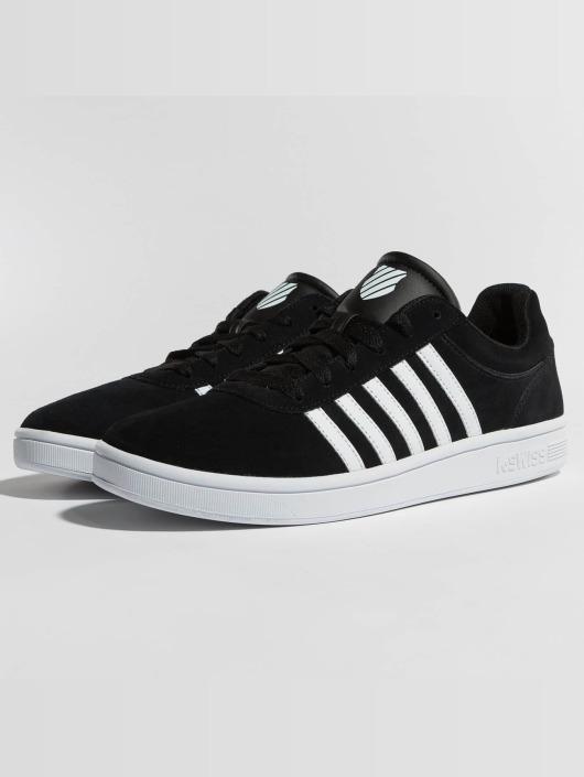 2528c42c4e23 K-Swiss Herren Sneaker Court Cheswick in schwarz 422774
