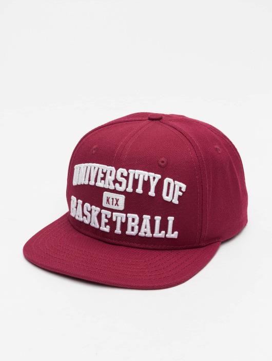 K1X Snapback Cap University of Basketball red