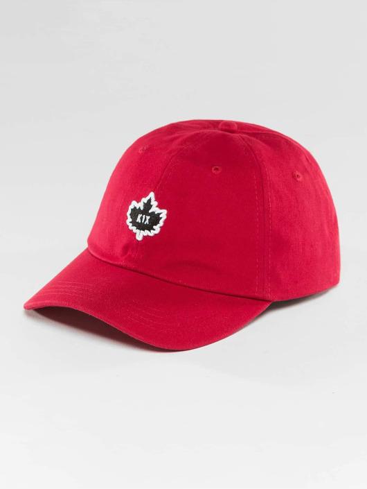 K1X Snapback Caps Crest Sports czerwony