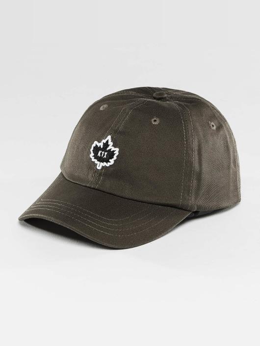 K1X Snapback Caps Crest Sports szary