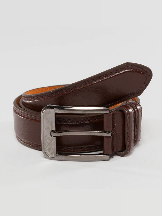 Kaiser Jewelry Paski Leather brazowy
