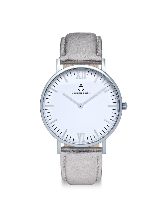 Kapten & Son Watch  grey