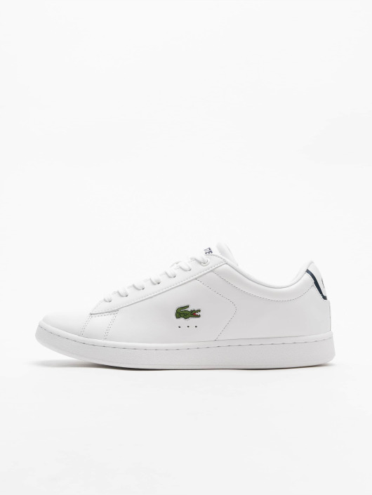 910a9714a593d Lacoste | Carnaby Evo BL 1 blanc Homme Baskets 327723