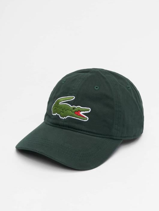 Lacoste Snapback Cap Big Logo green