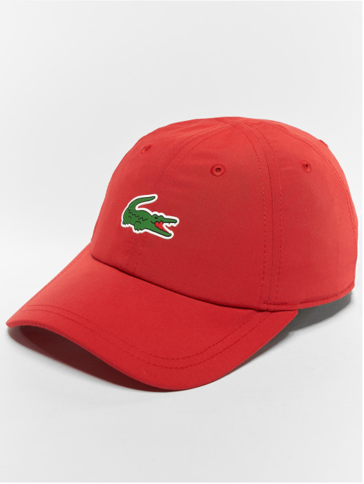 dcd540b9275 Lacoste Snapback Cap Classic in rot 521238