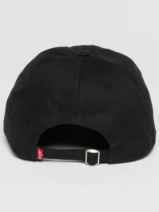 Levi's® Snapback Caps Olympic Logo Flexfit svart
