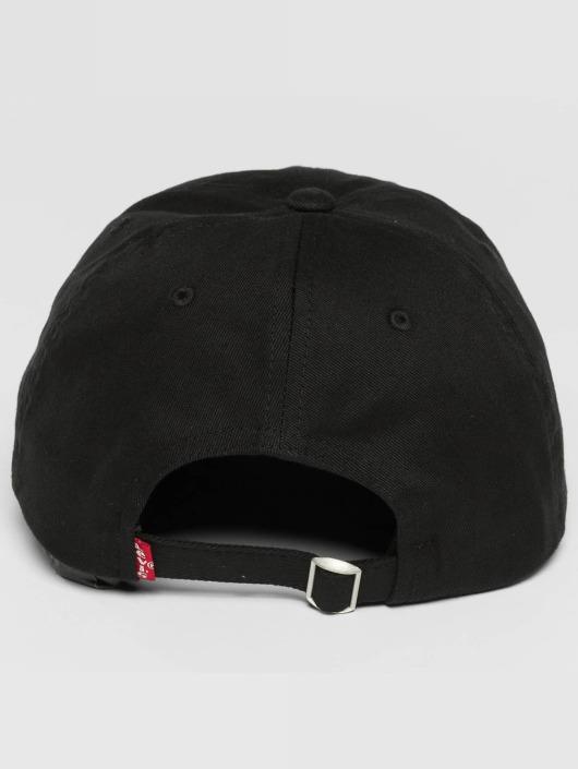 Levi's® Snapback Caps Big Batwing svart