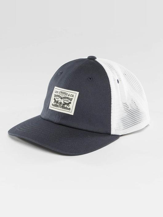 Levi's® Trucker Caps 2 Horse Patch modrý
