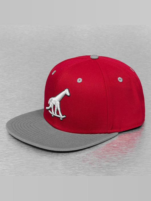 LRG Snapback Caps Skate Giraffe rød