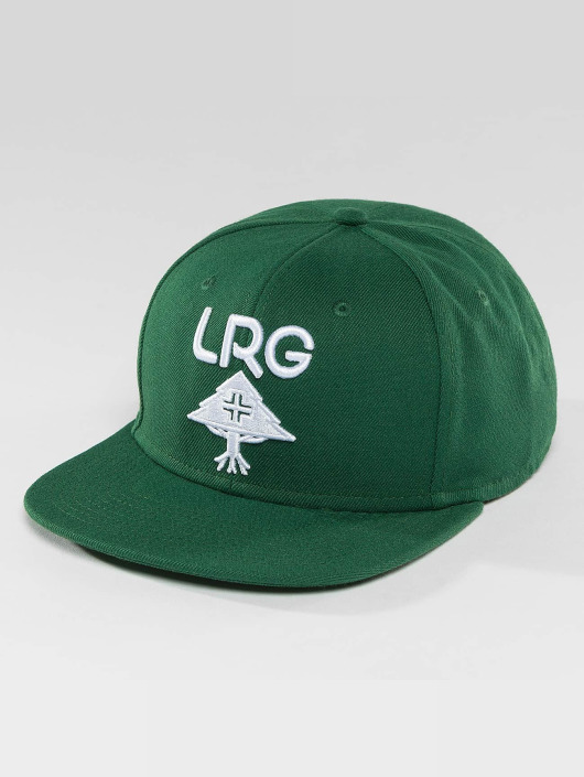 LRG Snapback Caps Research Group vihreä