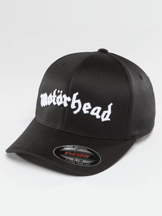Noir Fitted Motörhead Merchcode 397850 Flex Casquette QrtshBxCd