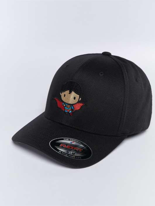 Merchcode Flexfitted Cap Superman Comic black