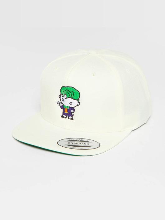 Merchcode Snapback Cap Joker Comic bianco