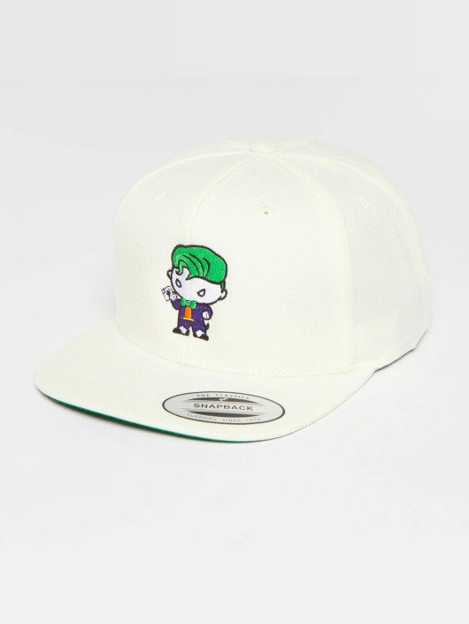 Merchcode Snapback Caps Joker Comic hvid