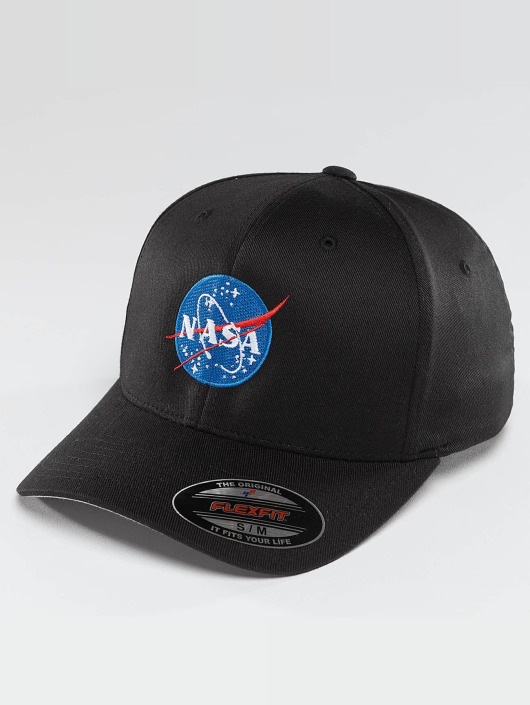 Mister Tee Flexfitted Cap NASA black