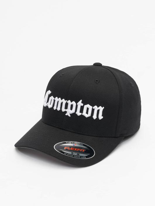 new concept 1de52 da5d4 ... Mister Tee Flexfitted-lippikset Compton Curved musta ...