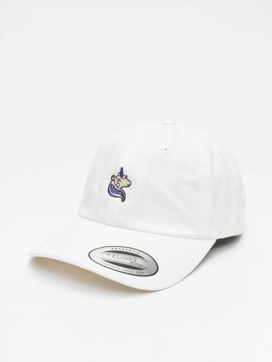 Mister Tee snapback cap Unicorn wit