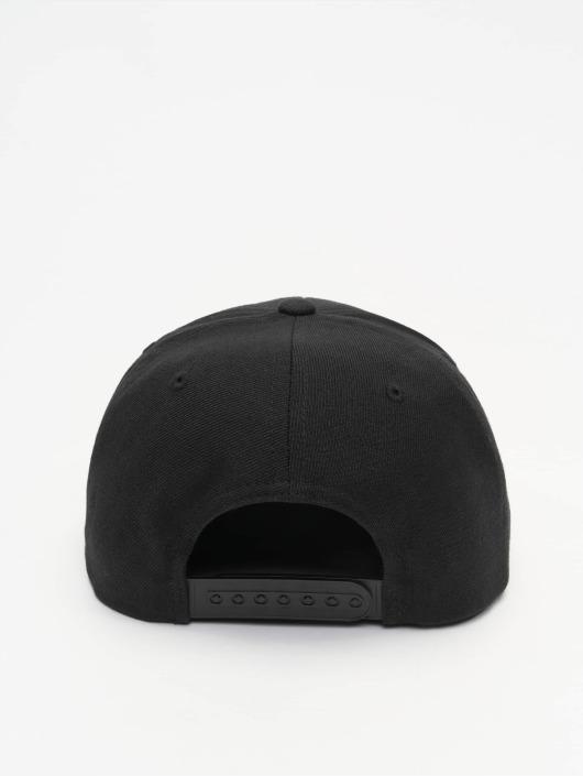 Mister Tee Snapback Caps Run DMC czarny