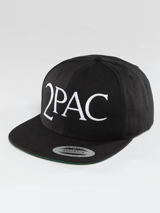 Mister Tee Snapback Caps 2Pac A.E.O.M. musta