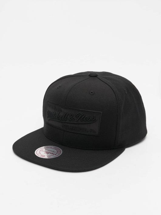 Mitchell & Ness Кепка с застёжкой Box Logo черный