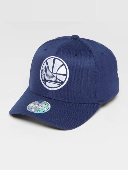 Mitchell & Ness Casquette Snapback & Strapback NBA The Navy 2-Tone 110 Golden State Warriors bleu